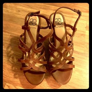 Daisy Fuentes Wedge Sandals